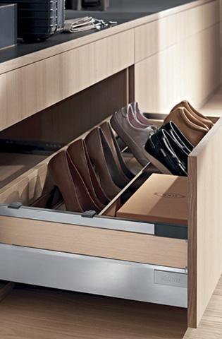 Soluções práticas para organizar objetos de acordo com a sua necessidade.